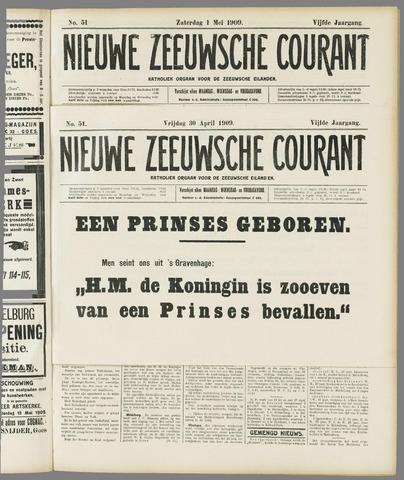 Nieuwe Zeeuwsche Courant 1909-05-01