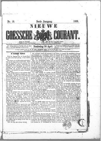 Nieuwe Goessche Courant 1868-04-30