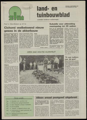 Zeeuwsch landbouwblad ... ZLM land- en tuinbouwblad 1991-09-13