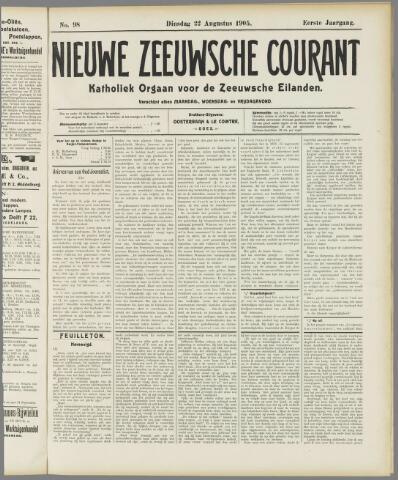 Nieuwe Zeeuwsche Courant 1905-08-22