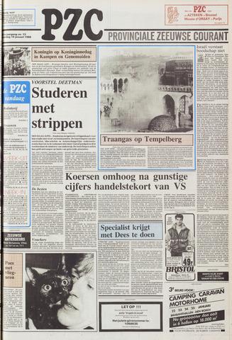 Provinciale Zeeuwse Courant 1988-01-16