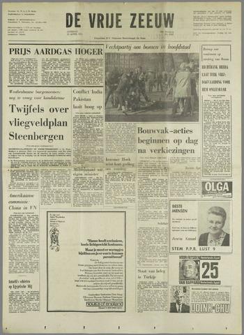 de Vrije Zeeuw 1971-04-27