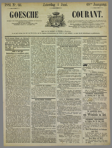 Goessche Courant 1881-06-04