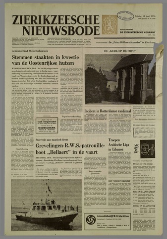 Zierikzeesche Nieuwsbode 1976-06-11
