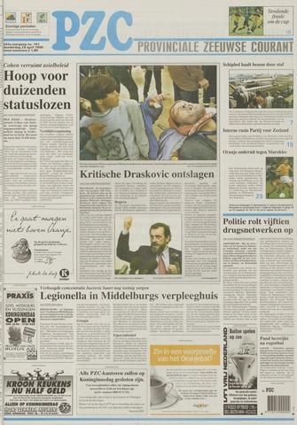 Provinciale Zeeuwse Courant 1999-04-29