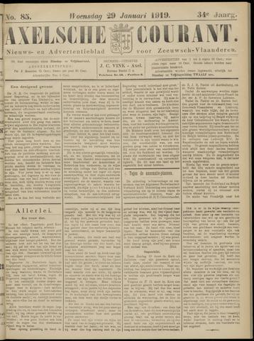 Axelsche Courant 1919-01-29