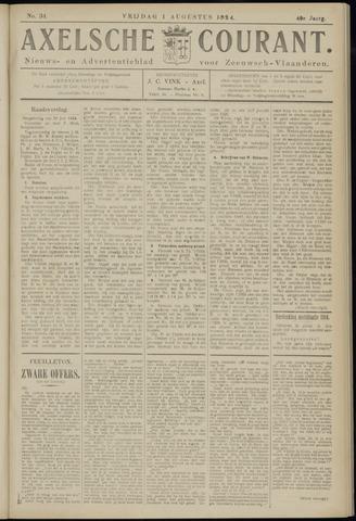 Axelsche Courant 1924-08-01