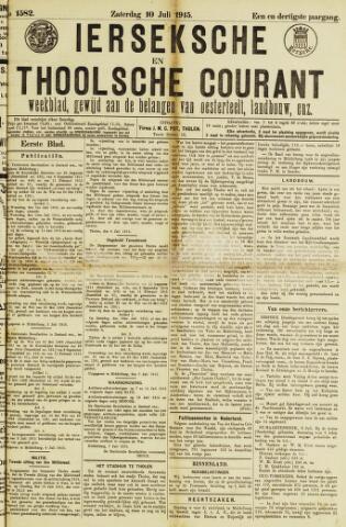 Ierseksche en Thoolsche Courant 1915-07-10