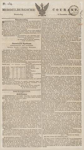 Middelburgsche Courant 1832-11-08