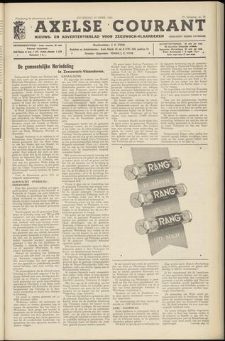 Axelsche Courant 1963-04-27