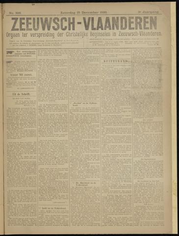 Luctor et Emergo. Antirevolutionair nieuws- en advertentieblad voor Zeeland / Zeeuwsch-Vlaanderen. Orgaan ter verspreiding van de christelijke beginselen in Zeeuwsch-Vlaanderen 1920-12-25