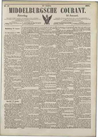 Middelburgsche Courant 1899-01-14
