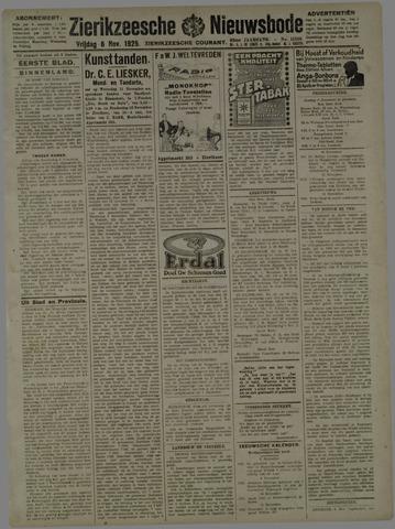 Zierikzeesche Nieuwsbode 1925-11-06