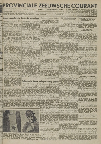 Provinciale Zeeuwse Courant 1943-11-16