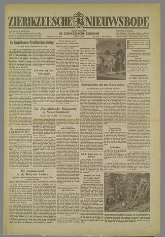 Zierikzeesche Nieuwsbode 1952-07-04