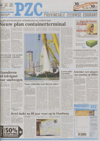Provinciale Zeeuwse Courant 2004-07-21