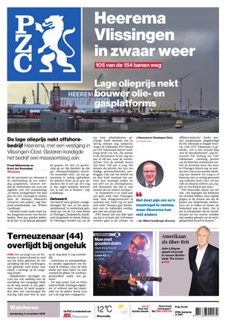 Provinciale Zeeuwse Courant 2016-11-03