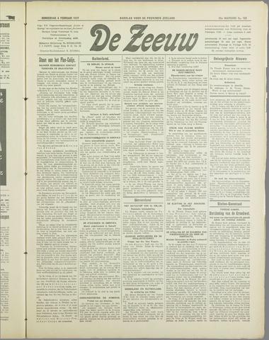 De Zeeuw. Christelijk-historisch nieuwsblad voor Zeeland 1937-02-04