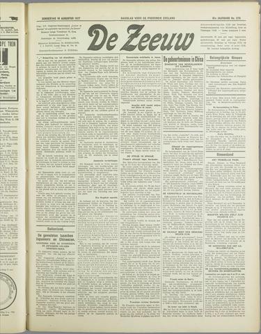 De Zeeuw. Christelijk-historisch nieuwsblad voor Zeeland 1937-08-19