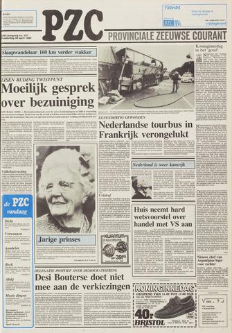 Provinciale Zeeuwse Courant 1987-04-30