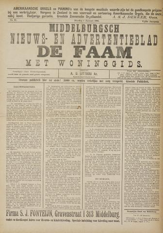 de Faam en de Faam/de Vlissinger 1901