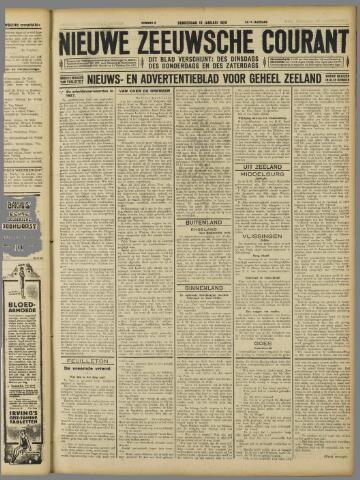 Nieuwe Zeeuwsche Courant 1928-01-19