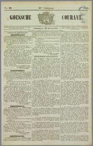 Goessche Courant 1856-09-11