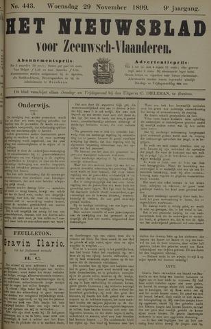 Nieuwsblad voor Zeeuwsch-Vlaanderen 1899-11-29