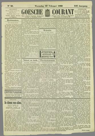 Goessche Courant 1929-02-27