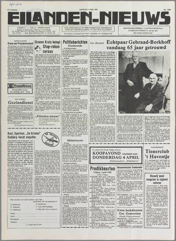 Eilanden-nieuws. Christelijk streekblad op gereformeerde grondslag 1985-04-02