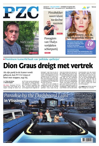 Provinciale Zeeuwse Courant 2015-08-22