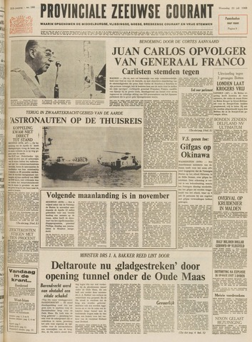 Provinciale Zeeuwse Courant 1969-07-23