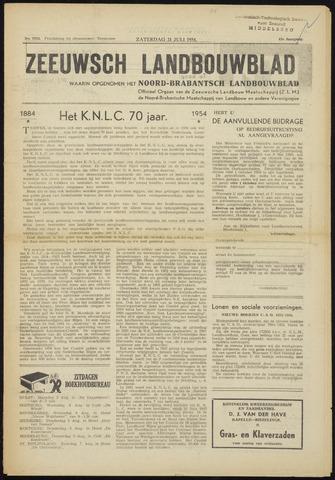 Zeeuwsch landbouwblad ... ZLM land- en tuinbouwblad 1954-07-31
