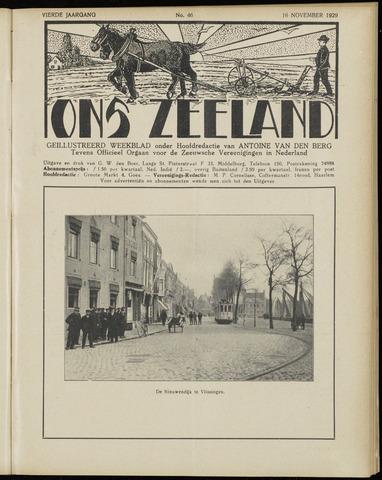 Ons Zeeland / Zeeuwsche editie 1929-11-16