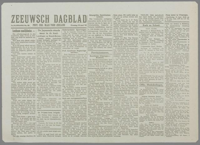 Zeeuwsch Dagblad 1945-06-12