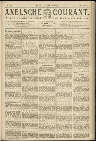 Axelsche Courant 1926-07-13