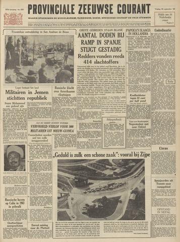 Provinciale Zeeuwse Courant 1962-09-28