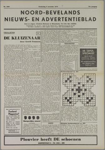 Noord-Bevelands Nieuws- en advertentieblad 1975-11-06