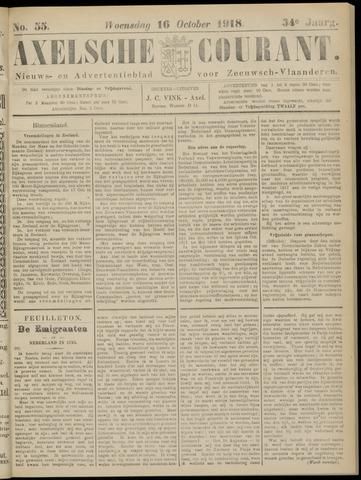 Axelsche Courant 1918-10-16