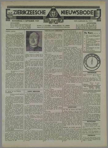 Zierikzeesche Nieuwsbode 1937-09-02