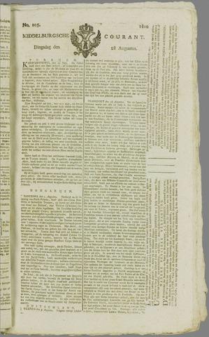 Middelburgsche Courant 1810-08-28