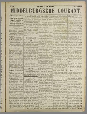 Middelburgsche Courant 1919-07-11