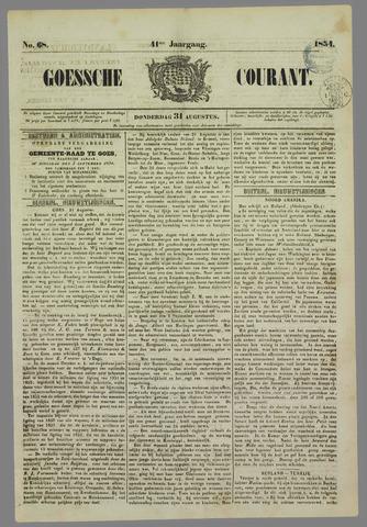 Goessche Courant 1854-08-31