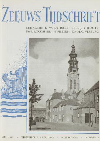 Zeeuws Tijdschrift 1954-05-01