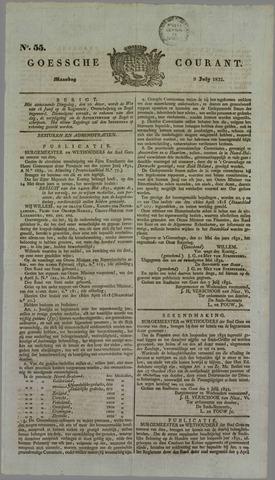 Goessche Courant 1832-07-09