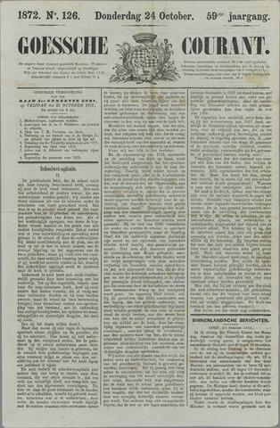 Goessche Courant 1872-10-24