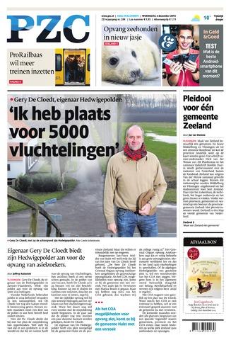 Provinciale Zeeuwse Courant 2015-12-02