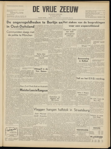 de Vrije Zeeuw 1953-06-22