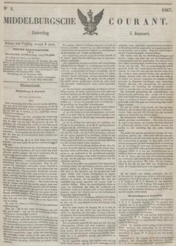 Middelburgsche Courant 1867-01-05