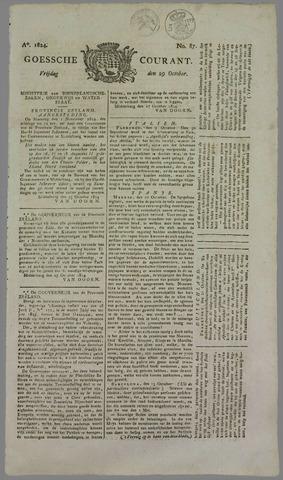 Goessche Courant 1824-10-29